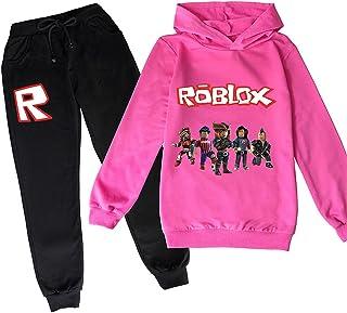 ZKDT Roblox - Sudadera con capucha clásica y cómoda para niños y niñas de 3 a 14 (estilo 3,140)