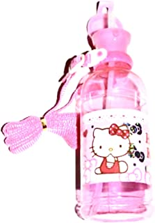 Pink Hello Kitty Water Bottle with Stap