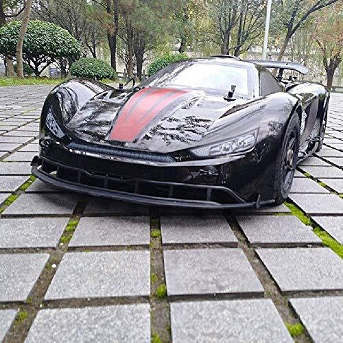 LINANNAN F5 1/5 2.4G 4WD RC de la Deriva del Coche 36cc Gasolina Motor de Carretera Plana Sport Rally Juguetes de Combustible Remoto inalámbrico de Control Regalos del Coche de Deportes para Hallo.