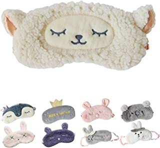 IvyOnly アイマスク アイカバー シープ 安眠 快眠 睡眠遮光 おしゃれ 旅行職場 おやすみマスク安い おもしろ 軽量 (シープ(18.5x8cm)