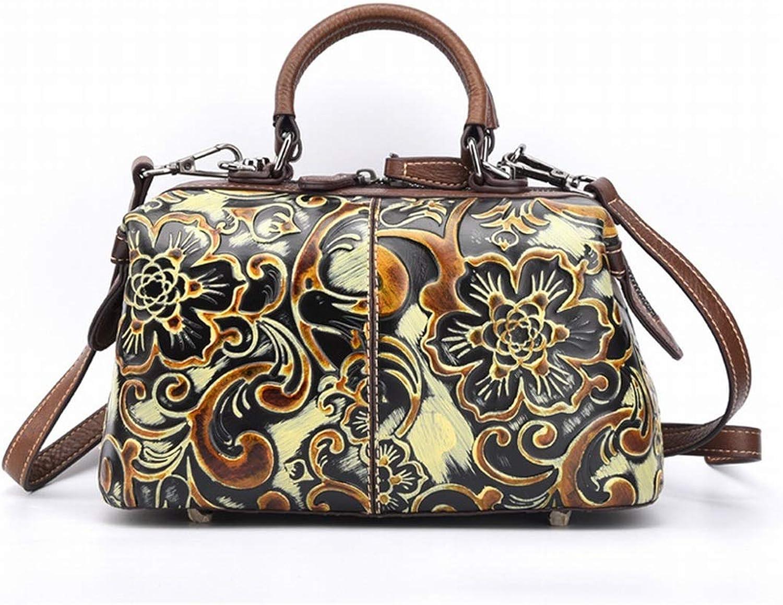 Ploekgda Frauen Handtaschen, Tote Bag Umhängetasche Top Griff Satchel Satchel Satchel Retro Bags (Farbe   Gelb) B07P54RK7J 76e1ea