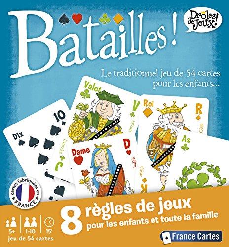 France Cartes - 410420 - Jeu de Société - Batailles