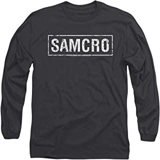 Sons of Anarchy Samcro Longsleeve T Shirt & Stickers