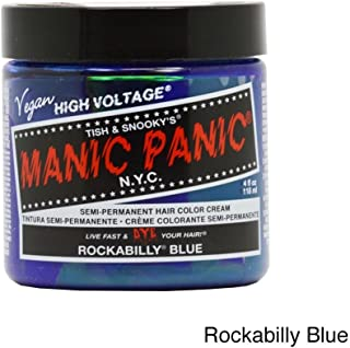 Manic Panic Rockabilly Blue Hair Dye #5 4oz