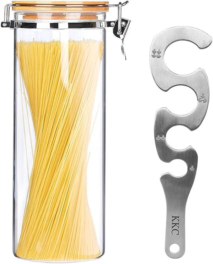 177 opinioni per KKC barattoli vetro ermetici, Barattoli Vetro per Spaghetti e Pasta Ermetici con