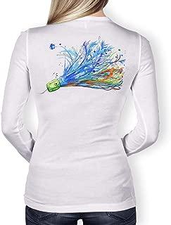 Womens Performance Fishing Shirt Girls Ladies Long Sleeve