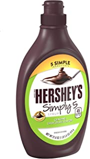 HERSHEY'S Chocolate Syrup Simply 5, 21.8oz
