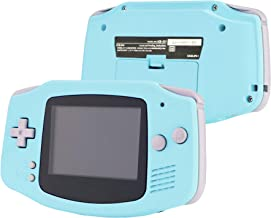 eXtremeRate Heaven Blue Soft Touch GBA Replacement Full Housing Shell Cover w/Buttons Screws Screwdriver Tools Set for Gam...