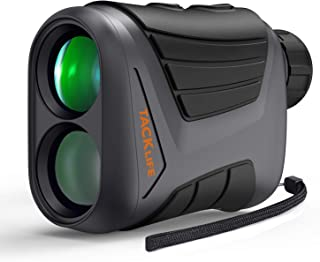 Hunting Rangefinder 900 Yards 7X Laser Range Finder with Pinsensor, Range/Speed/Scan Mode for Golfing,Hunting, Boating, Hiking, USB Charging Cable and Wrist Strap Included - TACKLIFE MLR01