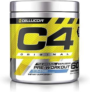 Cellucor International Version C4 オリジナルプレワークアウトパウダー ブルーラズベリー 60杯分 [海外直送品]