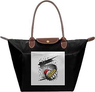 Super Smash Bros 5 Knuckle Duster Waterproof Leather Folded Messenger Nylon Bag Travel Tote Hopping Folding School Handbags
