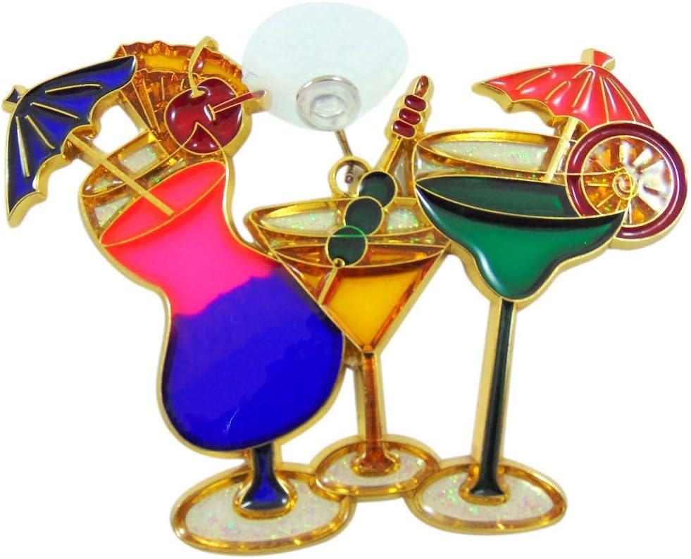 Nippon regular agency Sale item Tropical Drink Cocktail Suncatcher Window 5 Inch Decoration