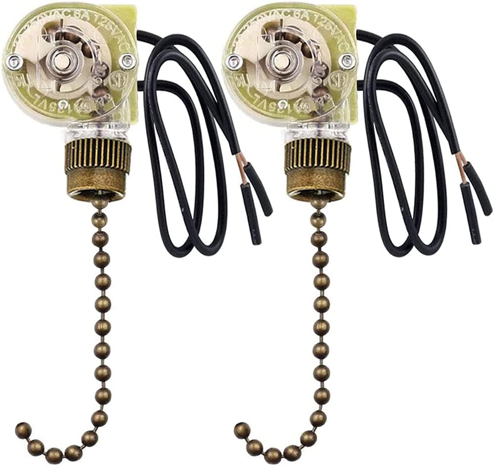 Ceiling Popular popular Max 78% OFF Fan Switch Zing Ear ZE-109 With Pu Light Two-wire