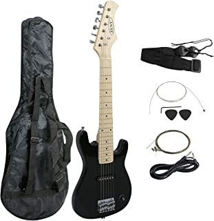 ZENY 30 Electric Guitar Set Beginner Kits for Kids with Gig Bag,Cable