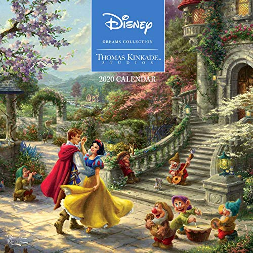 Thomas Kinkade Studios: Disney Dreams Collection 2020 Wall Calendar