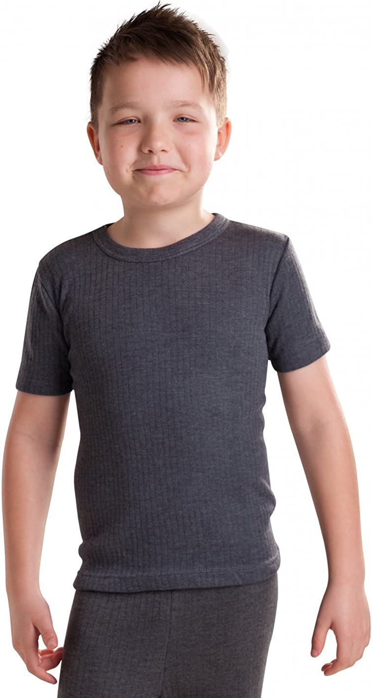 Octave Boys Thermal Underwear Short Sleeve T-Shirt/Vest/Top