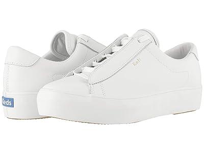 Keds Rise Metro Leather (White Leather) Women