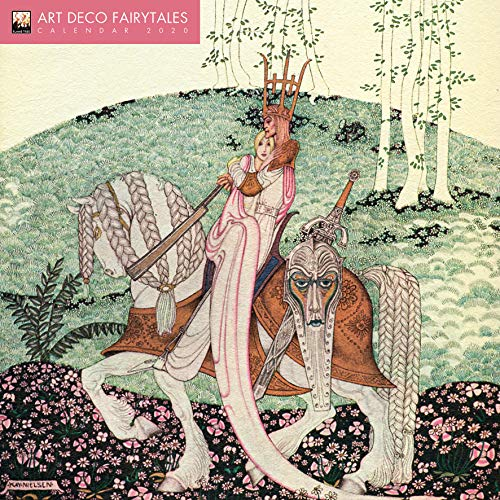Art Déco Fairytales – Der traumhafte Art Déco 2020: Original Flame Tree Publishing-Kalender...