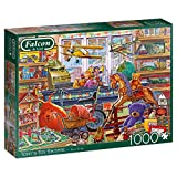 Jumbo- Tony's Toy Shop Rompecabezas, Multicolor (James Galt 11317)