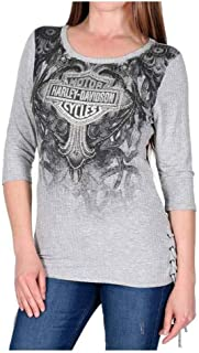 Best side lace up shirt Reviews