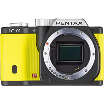 Pentax K-01 Mirrorless Digital Camera, Yellow (Body only)