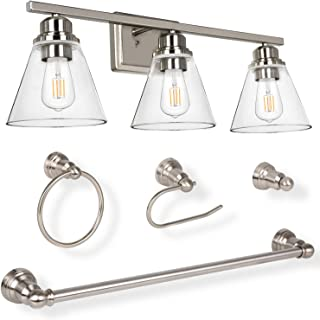 Amazon Com Edison Vanity Lights Wall Lights Tools Home Improvement