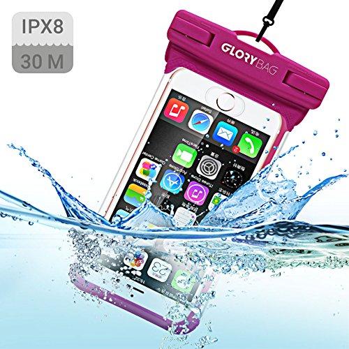 Glorybag - Premium wasserdichte Handyhülle – mit Touch ID Fingerprint – hochwertiges Handycase für Extreme Bedingungen – optimale Schutzhülle zum praktischen Outdoor-Einsatz für alle Smartphones