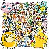 Stickers Pokemon, 100pcs Autocollants Pokemon, Stickers Voiture,...