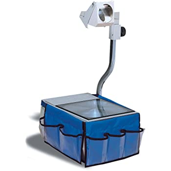 "Pacon Overhead Projector Caddy, 12""X7.5"" Each Side, Blue"