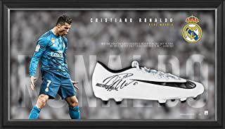 Sport Entertainment Products Cristiano Ronaldo Signed Boot Display