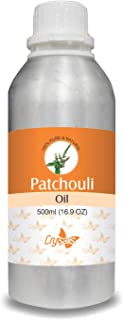 Crysalis Patchouli Oil 100% Natural Pure Undiluted Uncut Essential Oil 500ml