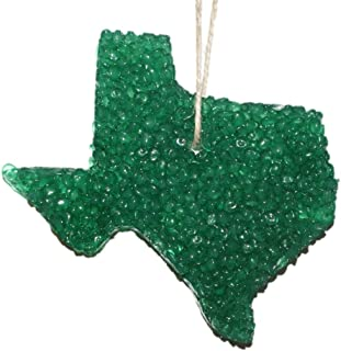 ChicWick Car Candle Leather Country Texas Shape Car Freshener Fragrance