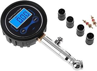 HELYZQ Medidor digital de pressão de pneu LCD 0-200PSI pressão de ar do pneu do carro para motocicletas, carros, caminhõe...