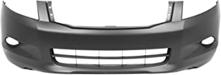 MBI AUTO - Painted to Match, Front Bumper Cover Fascia for 2008 2009 2010 Honda Accord V6 08-10, HO1000255