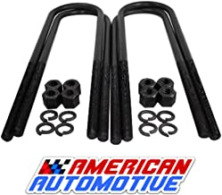 American Automotive Round U Bolt kit for 2005-2019 F250 F350 Super Duty 17.5