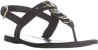 3b8312324d7 G by Guess Womens Lesha Open Toe Casual Slingback Sandals