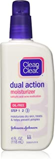 CLEAN & CLEAR MOISTURIZER 4 OZ