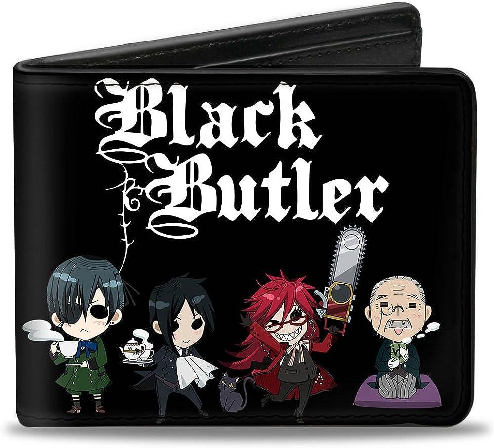 Buckle-Down Bifold Wallet Black Butler