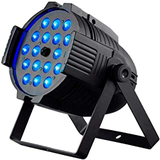 Monoprice Stage Wash PAR Stage Light With Zoom (RGBWA-UV), 18W, 18x LED - Stage Right Series