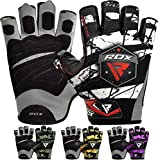 RDX Fitness Handschuhe Gewichtheben Sport Trainingshandschuhe Gym Bodybuilding Workout Gloves...