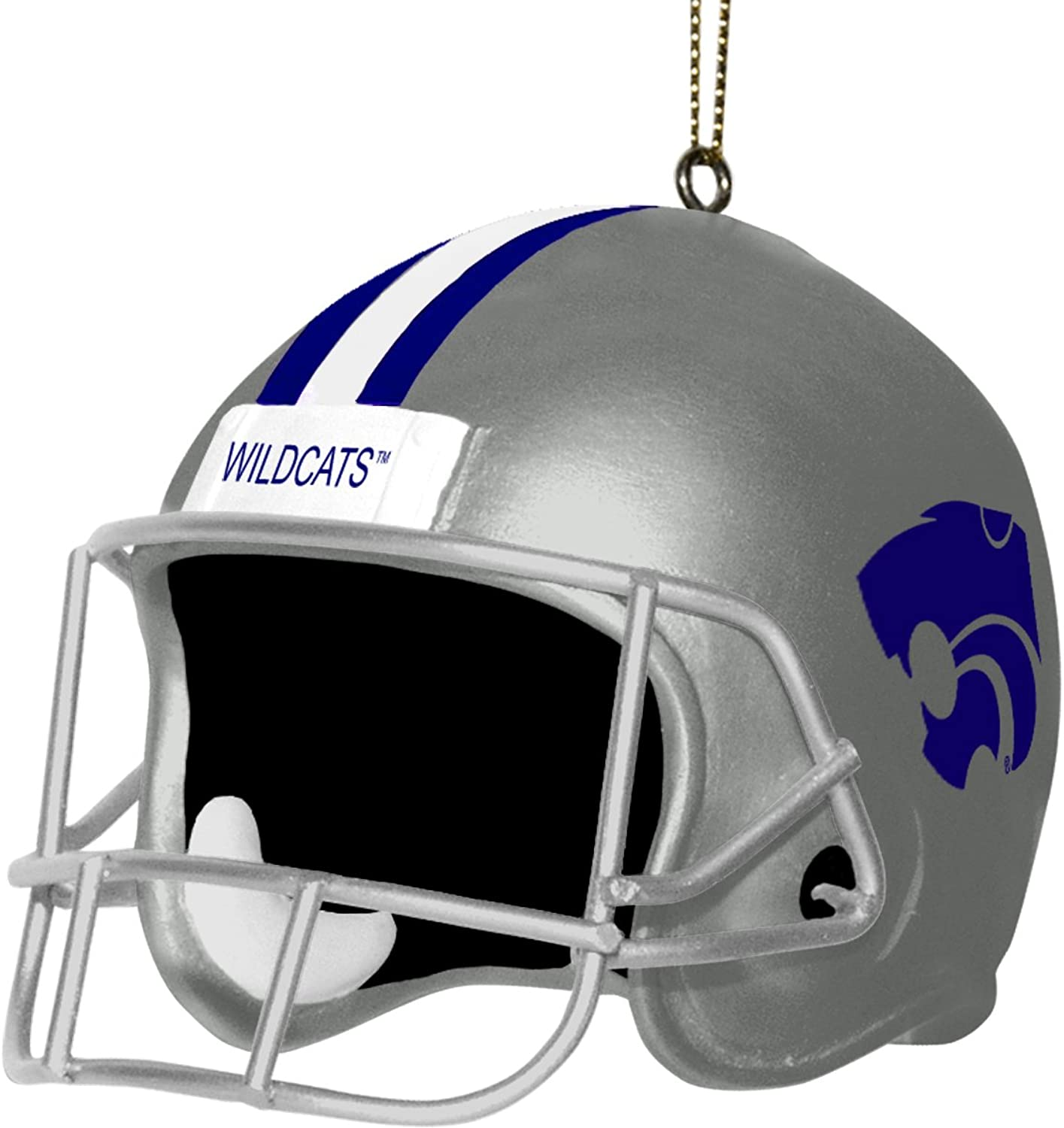 NCAA Kansas State Wildcats 3 Inch Helmet Ornament