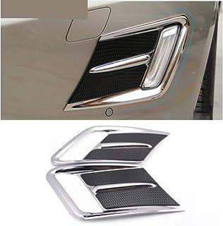 modanatura piacevole Universale per paraurti per auto striscia adesiva cromata argento brillante