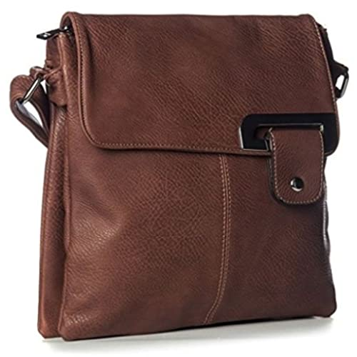 2d7c0d07eb5c WOMENS MEDIUM MULTI COMPARTMENT CROSS BODY SHOULDER MESSENGER BAG