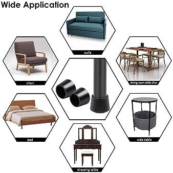 mesas y sillas Tapones de goma en muchos tama/ños y colores por Lifeswonderful/® para Muebles