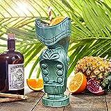 bar@drinkstuff Tazze Bocca Tiki 21oz / 580 ml - Tazza in ceramica cocktail hawaiano