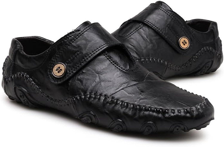 Y WEIFENG Loafers Lässig Flache Ferse mit echtem Leder Magic