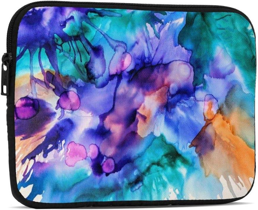 KXT Purple Teal Splash Tablet Sleeve Drop Water C Popular Case Bag Proof Max 76% OFF