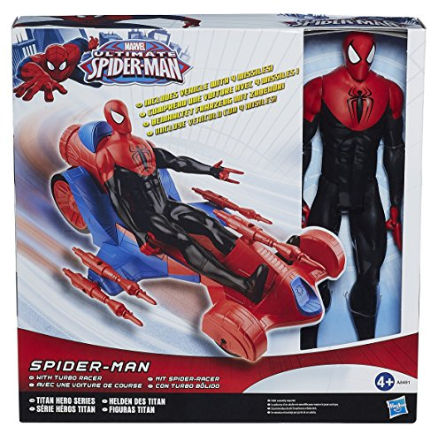 Marvel Spider-Man - A8491eu40 - Figurine 30 Cm + Voiture