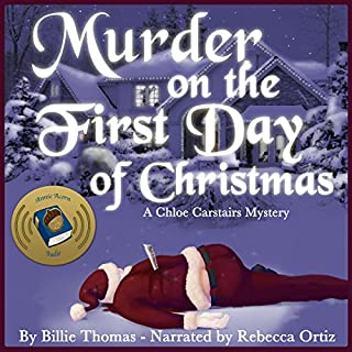 Murder on the First Day of Christmas cover art