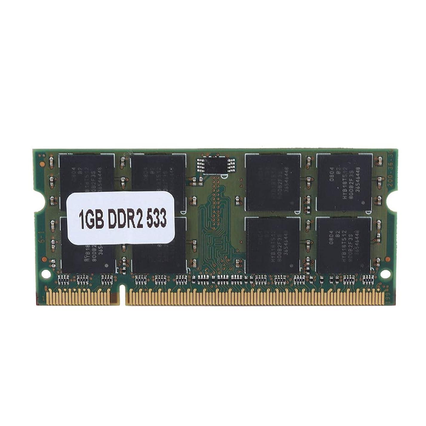 白雪姫モンクエミュレーションDDR2メモリ1GB RAM、1GB DDR2 533MHz 200Pinラップトップマザーボード専用メモリRAM完全互換、RAM